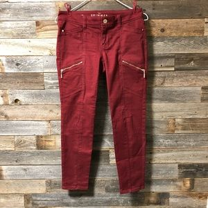 Maroon Pants from White House Black Market